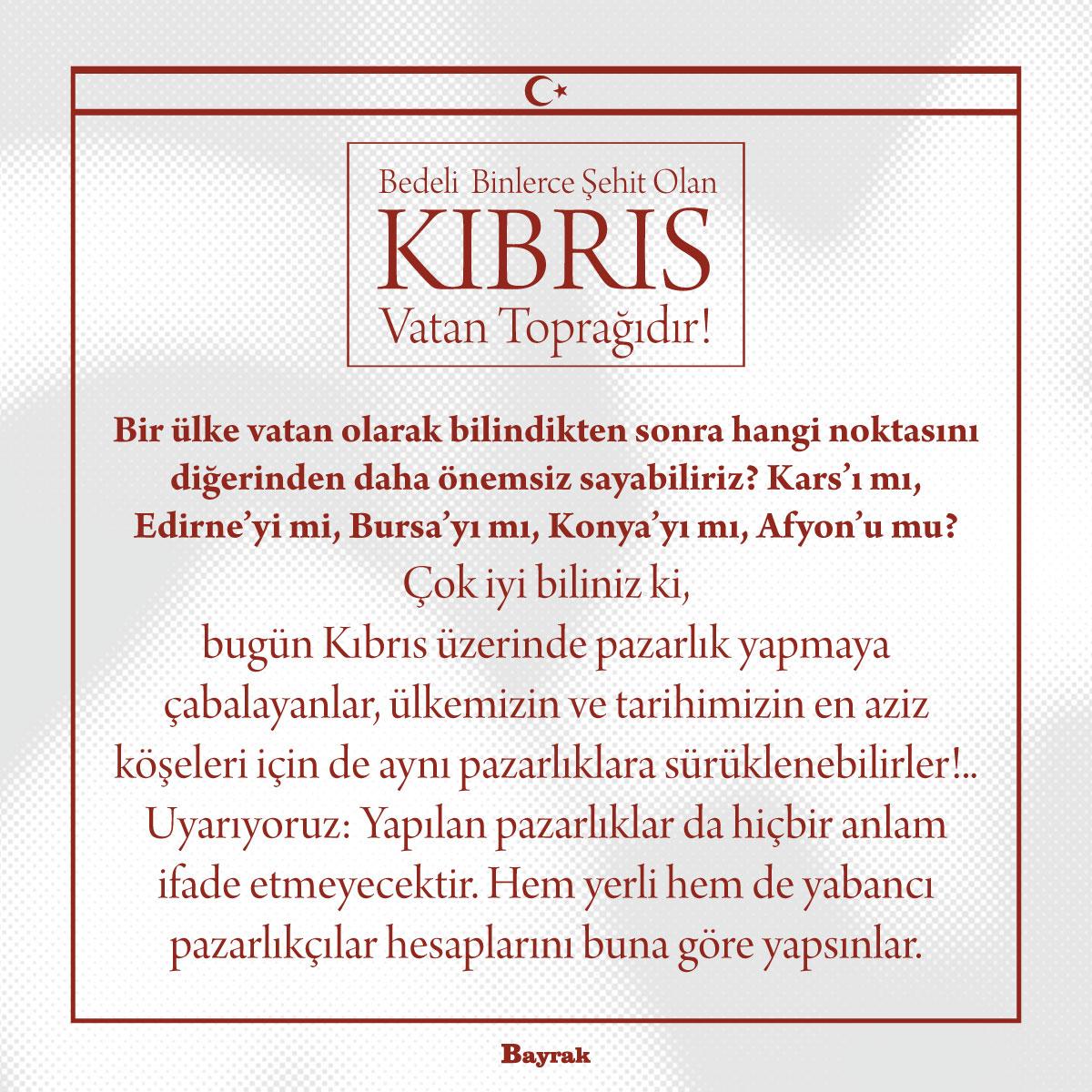 Kıbrıs Vatan Toprağıdır - 2