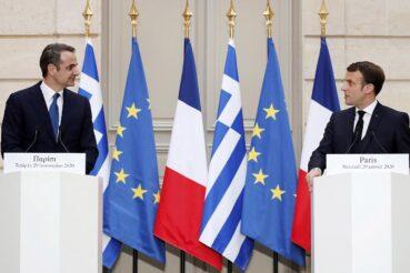 Macron - Miçotakis