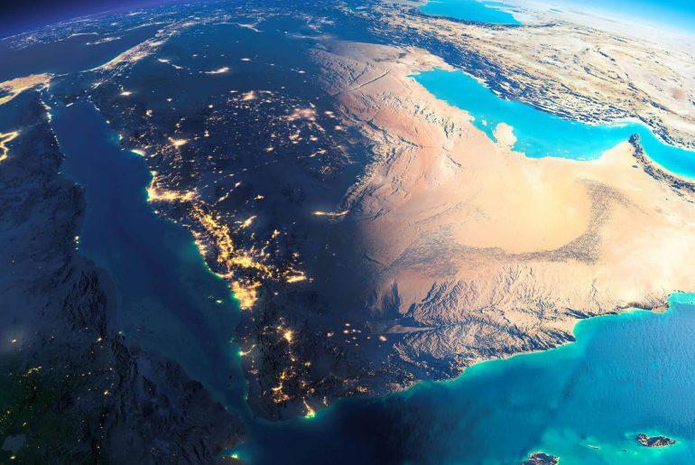 saudi_arabia_earth_map