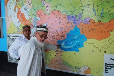 doğu türkistan haritasi